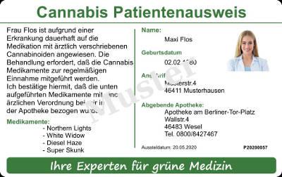 Cannabis aus Ihrer Apotheke
