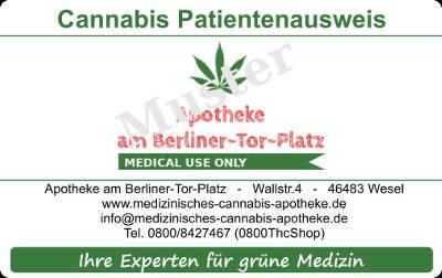 Cannabis aus Ihrer Apotheke Apotheke
